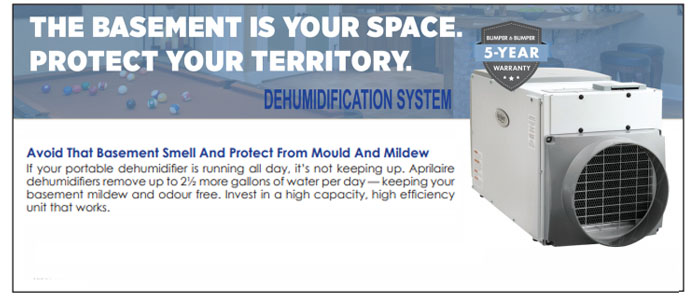 Basement Dehumidifcation System