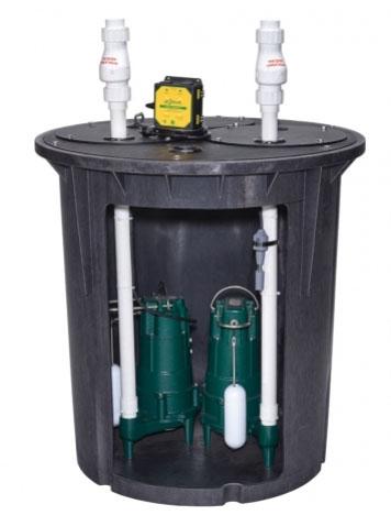Double Safe Sump Pump System