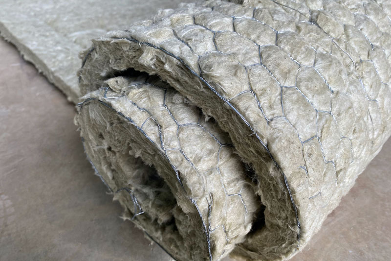 A roll of commercial asbestos insultation. Contact Supreme Services for Asbestos Abatement.